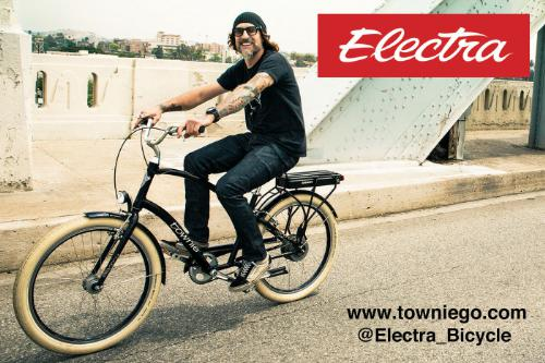 ELECTRA BICYCLE COMPANY TOWNIE GO!